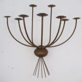 Bronzed Wall Sconce #2