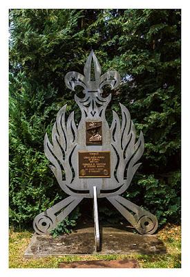 Red Lion meets Signal - Baden Powell Memorial Dudelange