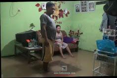 Banjir Merendam Puluhan Rumah di Desa Segodorejo