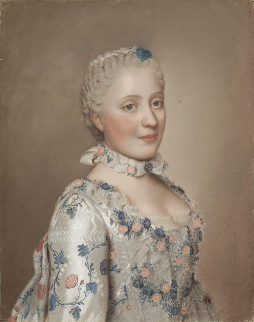 Jean-Étienne Liotard - Portrait of Marie-Josèphe of Saxony, Dauphine of France (1731–1767)