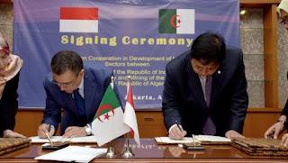 Algérie-Indonésie: mémorandum d'entente dans le secteur industriel