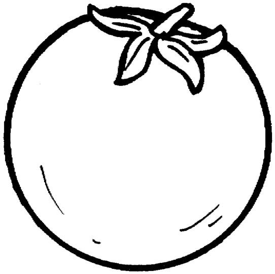 Pintar dibujos de frutas y verduras animadas - Tomate dessin ...