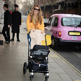 OIC - ENTSIMAGES.COM - Claire Sweeney leaving the Dr Vincent Wong Clinic Bulgari Hotel in London  8th April 2015 Photo Mobis Photos/OIC 0203 174 1069