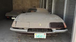 Abandoned Ferrari Daytona