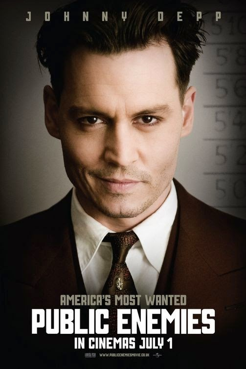 Poster Of Public Enemies (2009) Full Movie Hindi Dubbed Free Download Watch Online At Alldownloads4u.Com