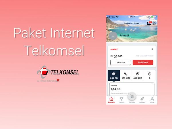 Daftar Harga Paket Internet Telkomsel November 2019
