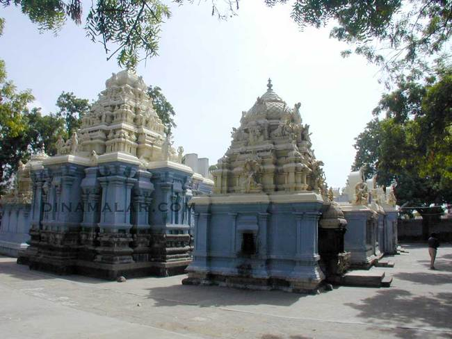 Temple Complex View