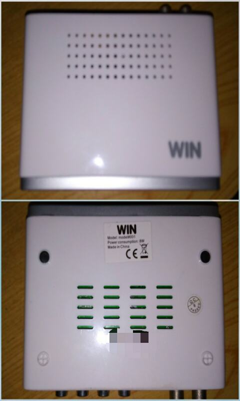 Win ISDB-T DTV Box Unboxing and Review