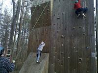 Far left climbing is tough