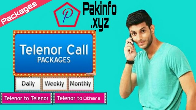 Telenor Call Packages - Hourly, Daily, Weekly, Monthly or Packs