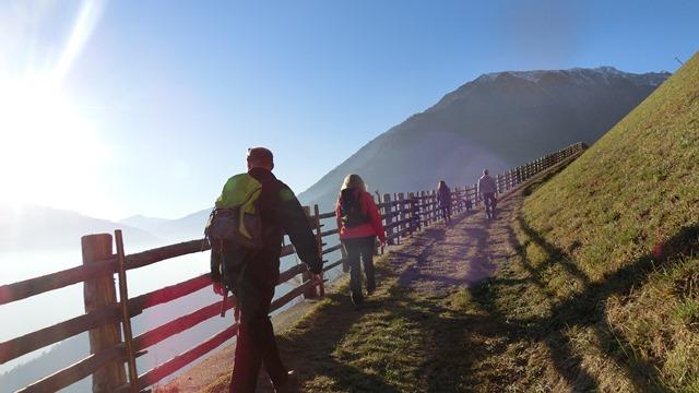 Winterwanderung von Katharinaberg zum Dickhof - Schulerhof Dezember 2016