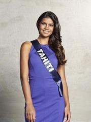 2016 Miss Tahiti 2015 Vaimiti Teiefitu