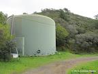 Water tank along H Line Fire Road