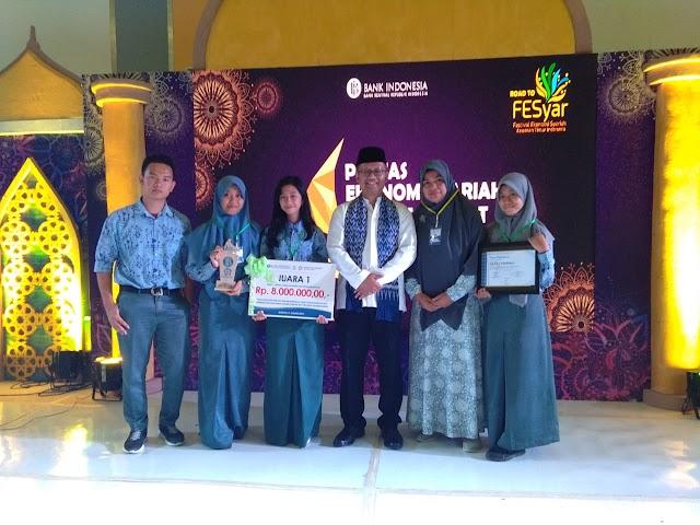 Kader IPM Polman Raih Juara Lomba Cerdas Cermat Ekonomi