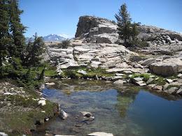 Ridge above Lady Lake.