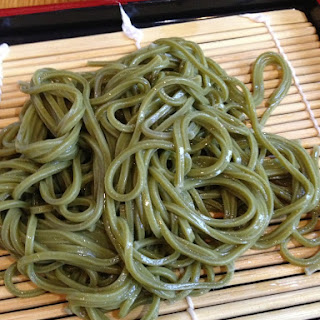 Quick and Easy Japanese Green Tea Noodles