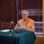 Swami Atmajnanananda speaks about spiritual practice.