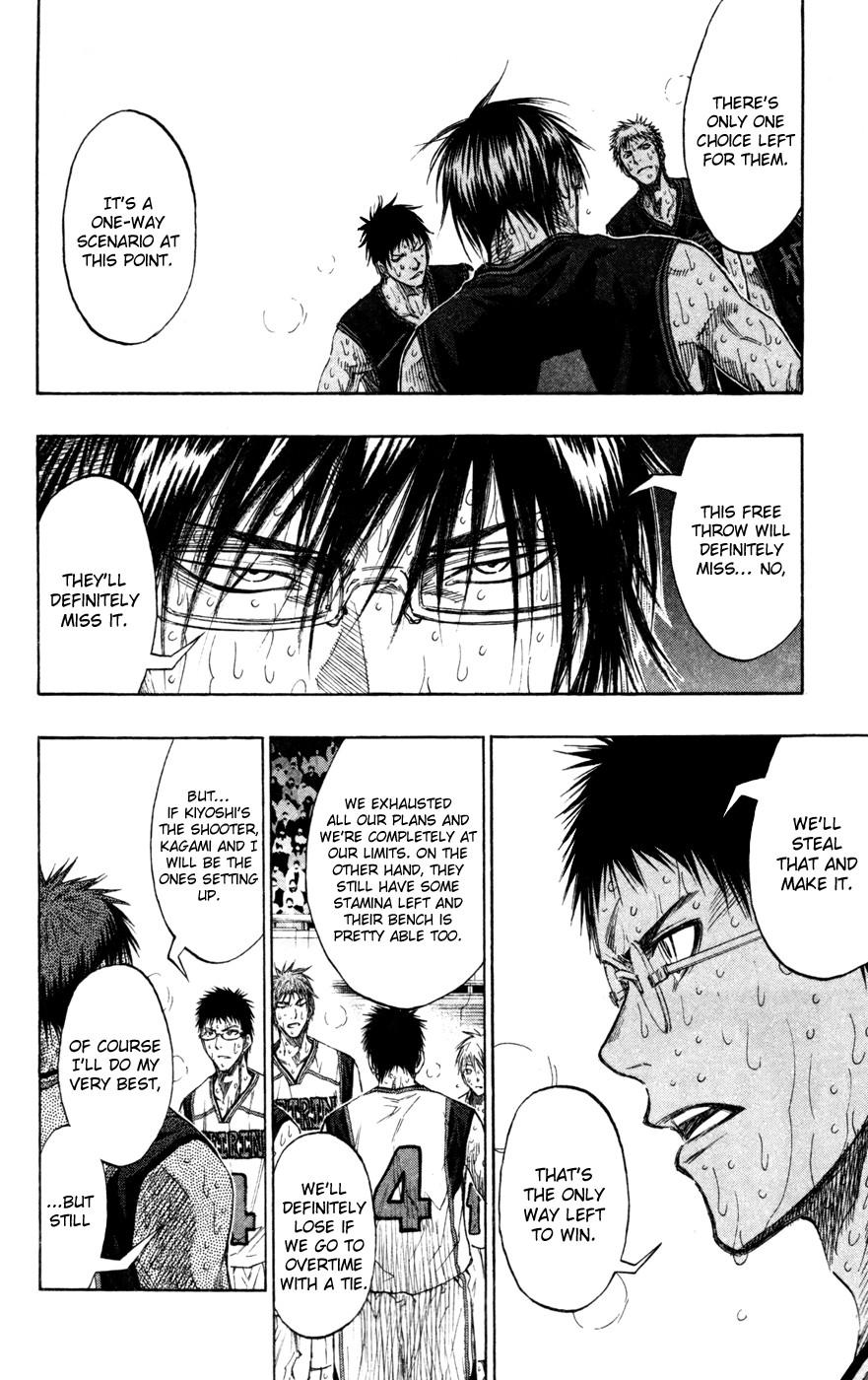 Kuroko no Basket Manga Chapter 138 - Image 08