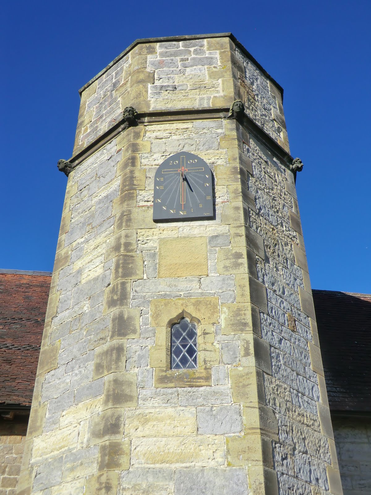 CIMG5755 Millennium sundial, St Mary's church