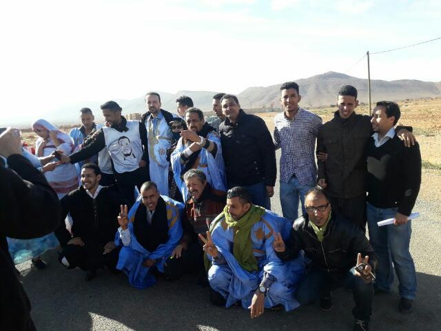 """عاجل : الافراج عن المعتقل السياسي الصحراوي و المدافع عن حقوق الإنسان """"عبد الخالق المرخي"""" بعد اربع سنوات من الاعتقال"""