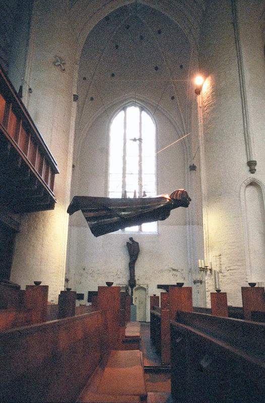 7. Ernst Barlach: Der Schwebende (The floating Angel). 1927. Copy. Original was destroyed by Nazis.