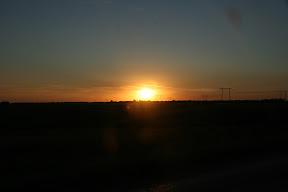 Zalazak sunca pred Tambovom
