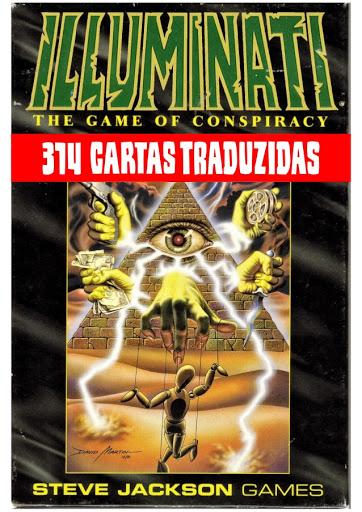 JOGO CARTAS Illuminati INWO- 1995 - N.W.O NEW WORLD ORDER MUDIALCompleto Traduzido   PT BR.