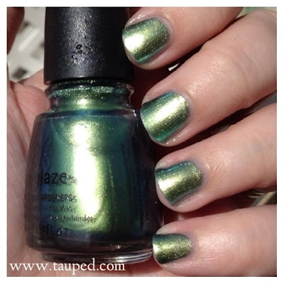china glaze unpredictable swatch review