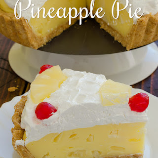 Pineapple Pie.