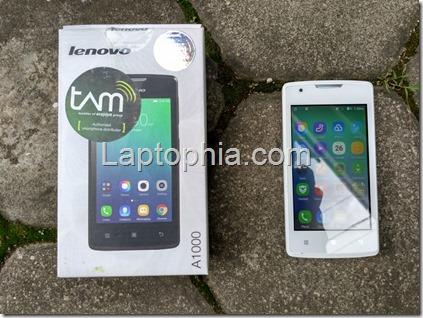 Kesan Pertama Lenovo A1000