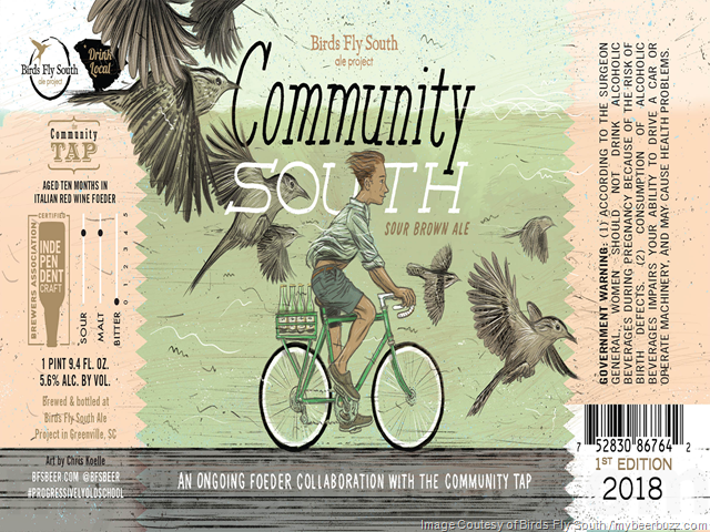 Birds Fly South Community Tap Foeder Collaboration Continues With Community South