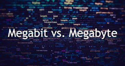ما هو الفرق بين الميجابايت والميجابايت؟