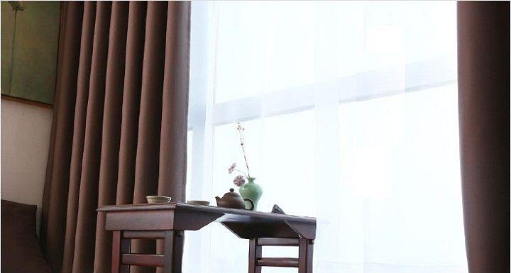 Rèm cửa sổ tại hà nội một màu bã trè sang trọng 10