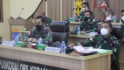 Waasops Kasdam XII Ikuti Rakor Keamanan Perbatasan R I- Malaysia