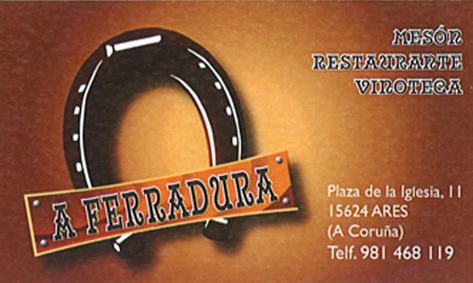 A Ferradura. Mesón - Restaurante - Vinoteca, colaborador coa A.D.R. Numancia de Ares