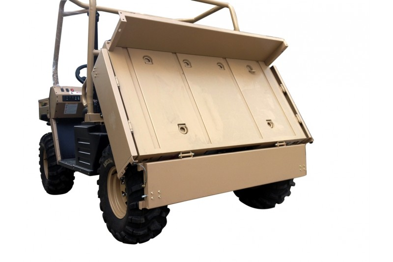 500cc Agmax Military Farm UTV Side By Side Rear Tilt Tray