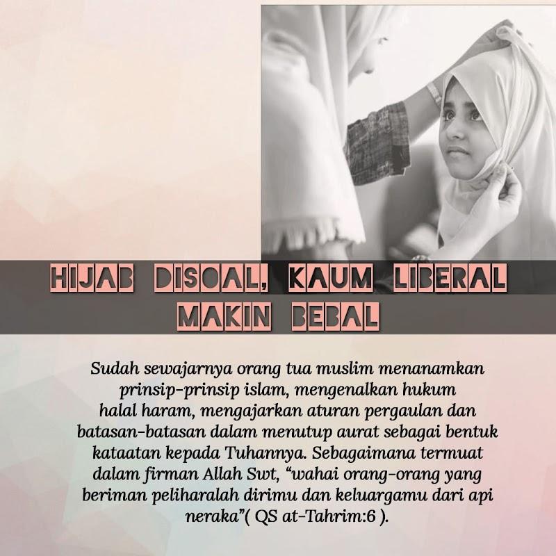 Hijab Disoal, Kaum Liberal Makin Bebal