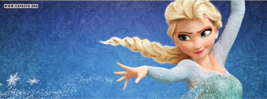 Capas para Facebook Frozen