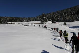 Corso Escursionismo in Ambiente Innevato 2013