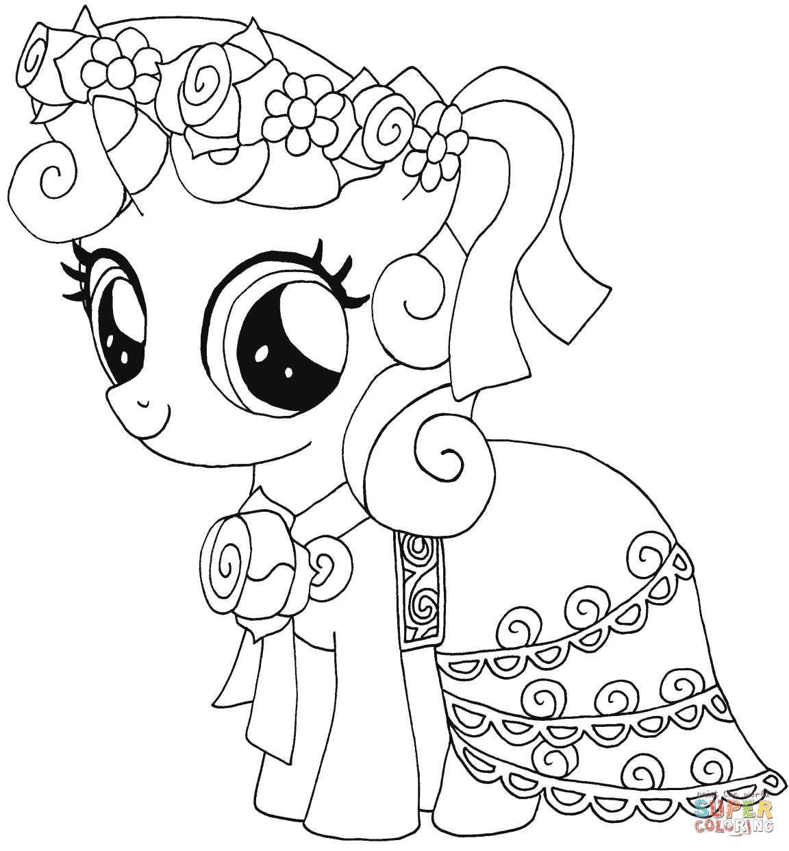 Best 15 Belle Coloring Pages Free