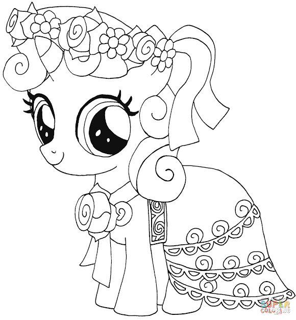 Belle Coloring Pages To View Printable Version Or Color It Online  Patible With Ipad And Android Tablets