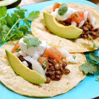 Lentil Tacos.