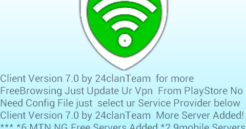 2019 mtn free browsing with 0 00kb with 24clan vpn pro