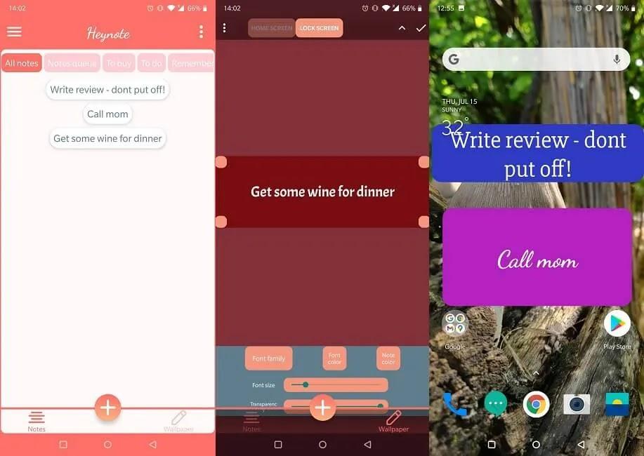 يجب أن يكون لديك تطبيقات تذكير لنظام Android Hey Note