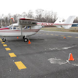 Cessna Skymaster that was also damaged by N41568 - 01