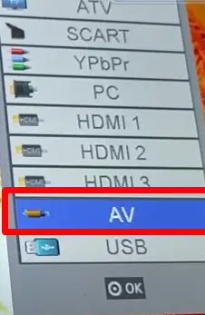 "Connecting a surveillance camera to the TV without DVR ""XVR"""