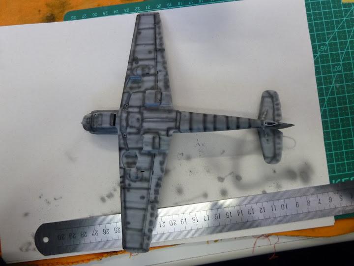 Bf-109 E-3 Tamiya 1/48 - Reforma pintura P1020460