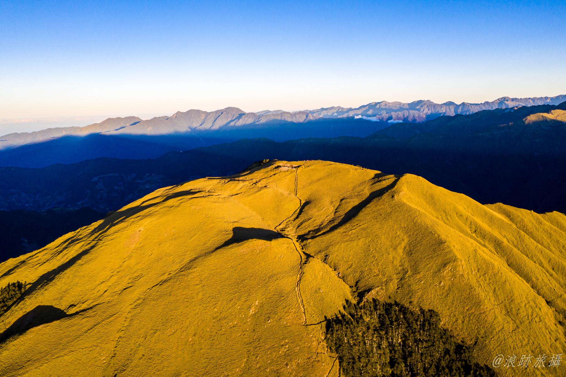 奇萊南峰空拍