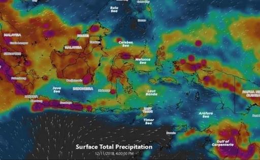 Seminggu Kedepan Potensi Hujan Lebat Terjadi di Beberapa Wilayah Indonesia