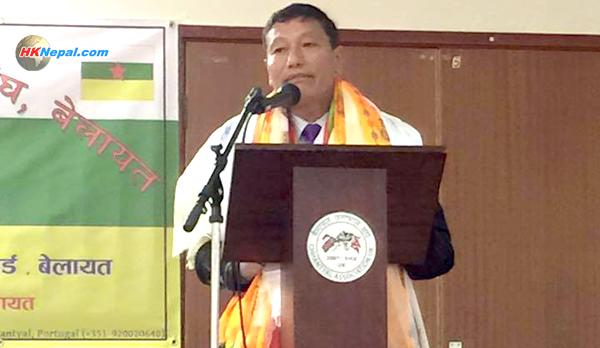 बेलायत महासंघको अध्यक्षमा छन्त्याल र महासचिवमा शेर्पा निर्वाचित